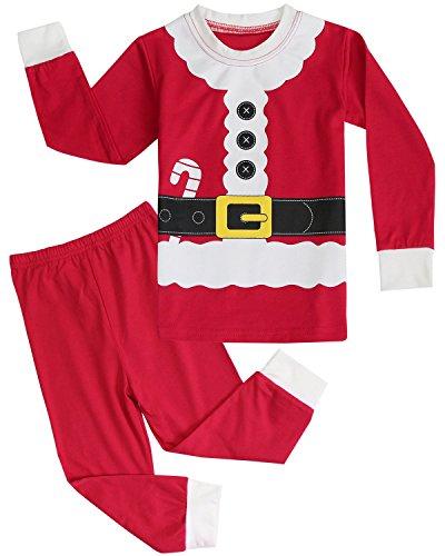 FANCYINN Christmas Sleepwears Unisex Little Boys Girls Pjs
