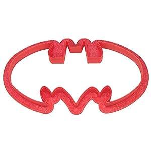 """Bat Sign Plast-Clusive Cookie Cutter 4.5"""" PC0225"""