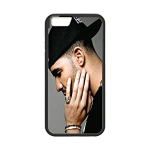 "Unique Phone Case Design 17Famous Singer Drake- For Apple Iphone 6,4.7"" screen Cases"