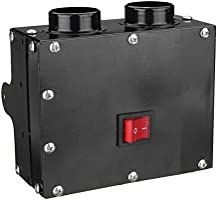 GOZAR 12V 24V 300W Coche Calentador De Camión Calefactor Doble Agujero Calefacción Ventilador Ventana Desempañador - 24V: Amazon.es: Hogar