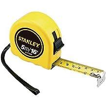 Stanley STHT33989-840, Trena Básica com Freio Manual, Amarelo/Preto, 5m