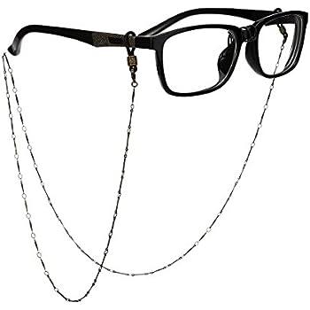 Amazon.com: OULII Vintage Bronze Glasses Chain Eyeglass