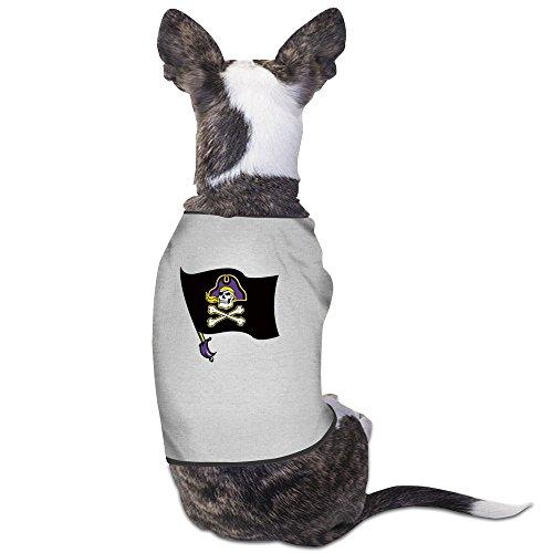 - Carolina Pirates Sports Teams Gray Cute Pet Supplies