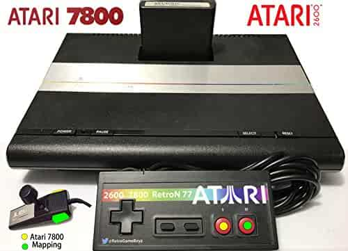 Atari 7800 Controller Control Pad 2600 Commodore 64 Retron Flashback Retro Gamepad Joystick