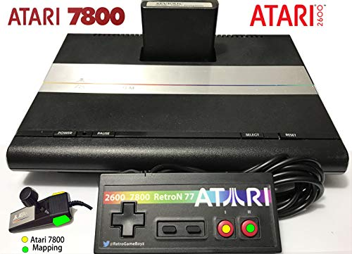 Atari 7800 Controller Control Pad 2600 Commodore 64 Retron Flashback Retro Gamepad Joystick