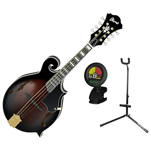 IbanezM522S F Style Mandolin with Tuner and Stand