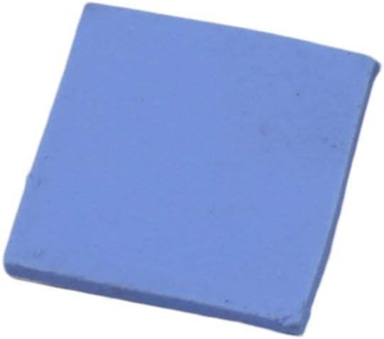 30pcs 10x10x1mm Soft Silicone Thermal Heat Conductive Pads Heatsink Sheet Chipset CPU GPU Heatsink