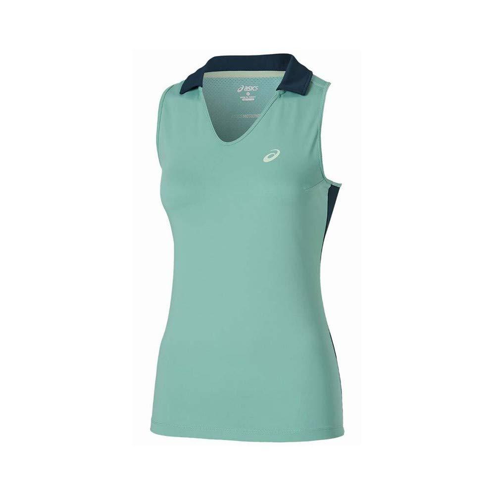 ASICS - Padel Sleeveless Polo, Color Azul, Talla M: Amazon.es ...