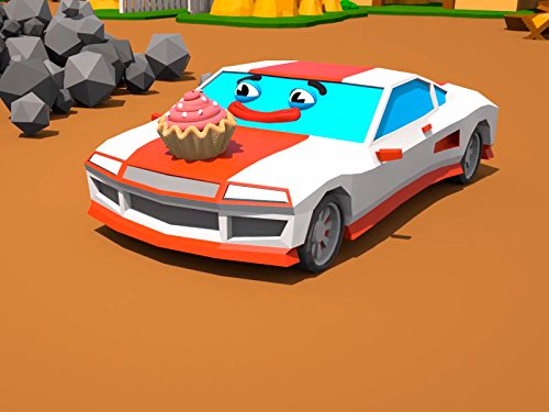 Racing Car with cake