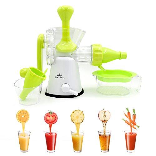 Raking-2-In-1-Manual-Wheatgrass-Juicer-Singer-Auger-Hand-Crank-Juicer-Ice-Cream-Maker