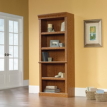 Library, Carolina Oak (Oak Tall Bookcase)
