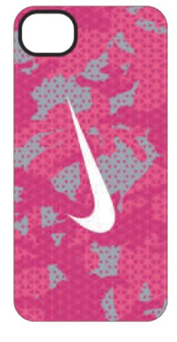 Nike Camo Hard Phone Case (iPhone 5, iPhone SE Pink Force/Dynamic Pink/Wolf Grey/White)