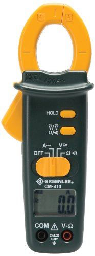 Greenlee CM-410 AC Clamp-on Meter, 400-Amp