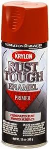 Krylon RTA9204 'Rust Tough' Ruddy Brown Primer - 12 oz. Aerosol