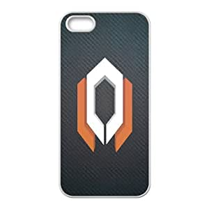 iPhone 5 5s Cell Phone Case White Mass Effect PJX Cellphone Cover