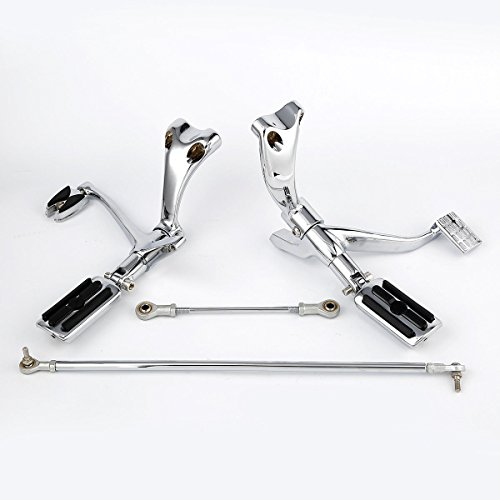 s Pegs Levers Linkages For Harley Sportster XL 883 Iron 2009-2013 ()