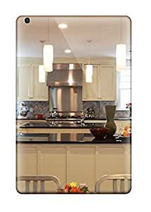 Case Cover Traditional White Kitchen With Stainless Appliances Amp Black Countertops/ Fashionable Case For Ipad Mini/mini 2