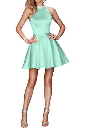 Mit Linie Satin Perlen Sweetheart Sage Ivydressing Cocktaikleid Kurz Damen Ausschnitt Abendkleid A Promkleid qwAna6x