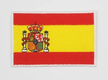 Patches – Spain Flag – Bandera españa – Flag Patches – Countries ...