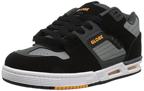 Der Fury-Skate-Schuh der Kugel-Männer Schwarz / Grau / Orange