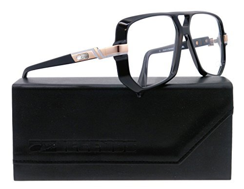 CAZAL 627 SUNGLASSES VINTAGE LEGEND BLACK Eyeglasses 627 001 Black/Gold SQUARE AUTHENTIC NEW