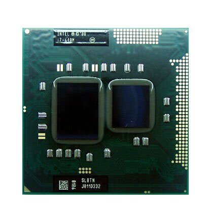 Intel Core i7-640M SLBTN 2.8GHz 4MB Dual-core Mobile CPU Processor Socket G1 ()