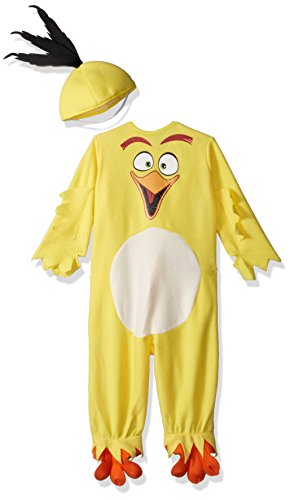 Rubie's Costume Angry Birds Movie EZ-On Romper Chuck Costume, 2T