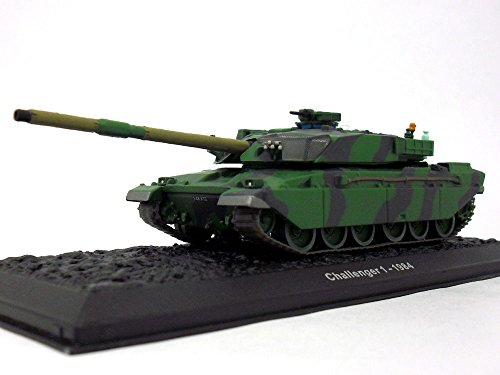 Tank Main Battle British (ALTAYA Challenger 1 British Main Battle Tank 1/72 Scale Diecast Model)
