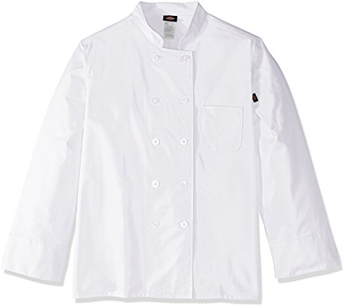 Dickies Chef Women's Classic Coat Plus Size, White, 5X-Large ()