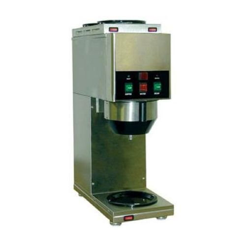 Grindmaster Stainless Steel Decanter/Cup Soluble Coffee Dispenser with 1 Dispense Head, 8 x 17 x 23.4375 inch -- 1 each.