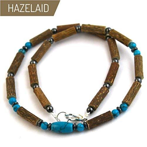 - Hazelaid (TM) Adult Hazelwood-Gemstone Necklace - 20