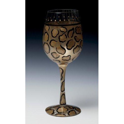Lolita Leopard Wine Glass - Leopard Lolita