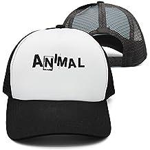 Maloery Rorry Unisex Animal Letter Gym Mesh Baseball Caps Adjustable Bump Hats