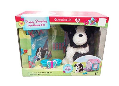 American Girl Preppy Sheepdog Pet-House Set