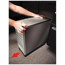 PC-Skate 108 0131 PC Skate CPU Roller, Black