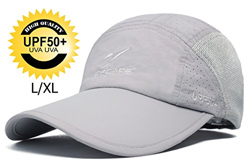 Baseball Golf Visor - ELLEWIN Unisex Summer Baseball Cap Sports Mesh Hat for Golf Running Fishing