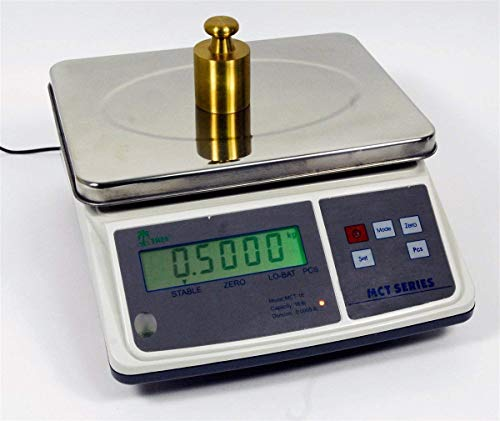 3lb x 0.0001lb Digital Parts Counting Scale – Mid Counting Scale with Check-weighing Function – Inventory Scale – Coin Counting Scale
