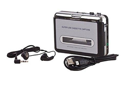 Conversor De Fita Cassette Usb Tocador E Conversor K7 Mp3 Walkman