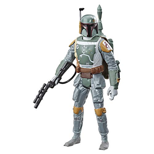 Star Wars Galaxy of Adventures Boba Fett 3.75-Inch-Scale Figure Toy and Mini Comic - Learn About