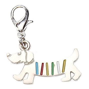 Long Dream Rainbow Dog Style Collar Charm para Perros Gatos, perro cuellos de piel de enrollado Sparkle perro Collars Seresto ...