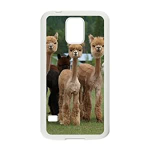 Alpaca Customized Cover Case with Hard Shell Protection for SamSung Galaxy S5 I9600 Case lxa#920063