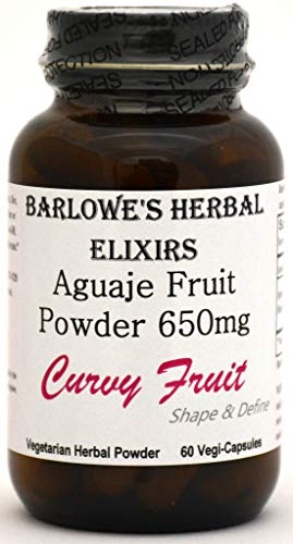 AguajeCurvy Fruit Powder - Bottled in Glass, Stearate & GMO Free! Free Shipping on Orders Over $49!