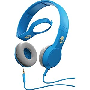 Skullcandy The Cassette Headphones with Mic in Athletic Blue