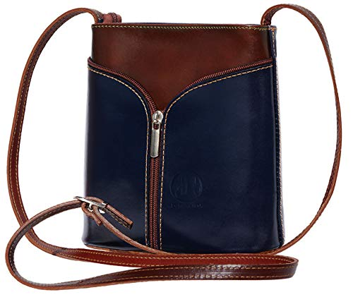 Patent Crossbody bags for women, Genuine Leather Purses and Handbags - Premium Crossover Crossbody Bags Over the Shoulder Small Crossbody Purses Florence