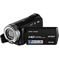 Ordro HDV-V12 Full HD Digital Video Camera with Special IR Night Vision and 3 Inch TFT-LCD Screen from Emperor of Gadgets