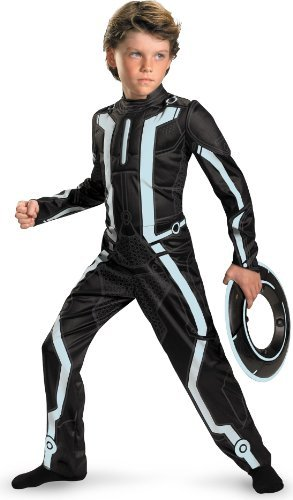 Deluxe Tron Legacy Child Costume - Small