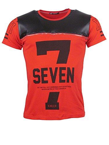T-Shirt - SEVEN - rot