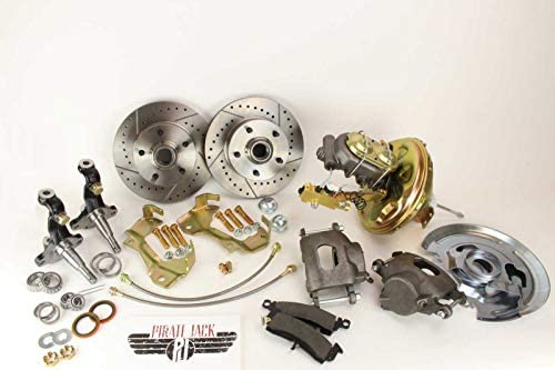 "1968-1972 Chevy GM Nova OE Style 11/"" Power Delco Brake Booster Kit disc//drum"