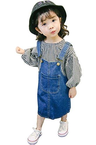 66643c73536c0 (ビートゥモロー) b-tomorrow キッズ 女の子 子供服 ワンピース ジャンパースカート ジャンスカ つなぎ