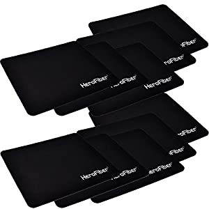 HeroFiber Highly Accurate Ultra Thick 3mm Non Slip Mouse Pad (10 pack)
